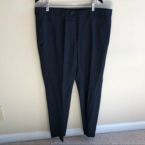 💜 Pronto Uomo Black Dress Pants sz 38 Waist